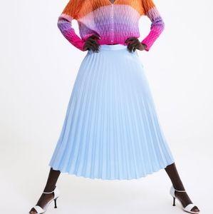 NWT, ZARA Pleated Skirt